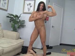 muskulis, pazemojums, sieviete