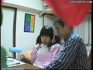 Sexo tutorial vídeo en students habitación