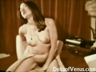 John holmes fucks tóc rậm cậu bé tóc nâu cô gái cổ điển khiêu dâm 1970s