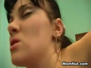 Fat And Horny Mom Joins A Young Couple