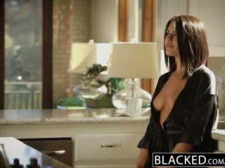 Blacked brunette adriana chechik takes trio de bbcs