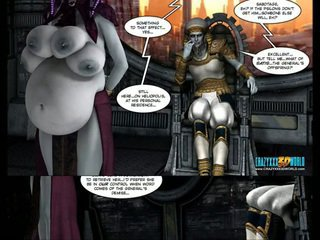 3d コミック: galacticus. chapters 8-12