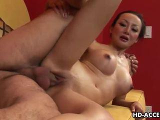 Mature Asian slut Angie Venus gets ass fucked hard