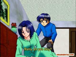 Berpayu dara besar anime ibu panas menunggang zakar/batang