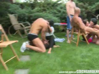 Czech Pool Garden Orgy <span class=duration>- 6 min</span>