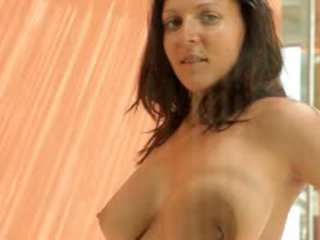 Brunet With Ultra Huge Tits