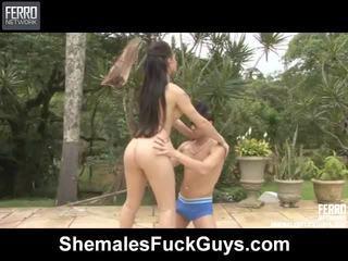 αρσενικό, μείγμα, shemale sex