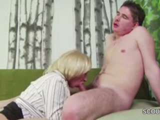 suur rind, blowjob, vana + young