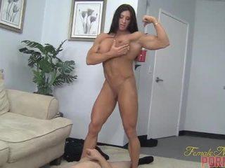 músculo, humilhação, feminino
