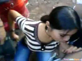 Indijke punca pri a sideroad orgija