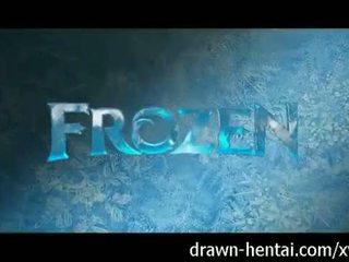 Frozen Hentai - Elsa's wet dream