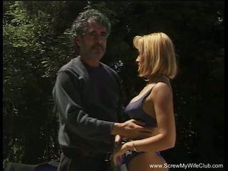 Inter-racial anal para troca de casais esposa, grátis porno ad