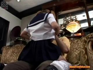 Schoolgirls Oral Job