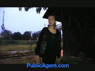 Bionda giovanissima fucks pubblico agent