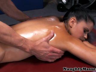 큰 가슴, 마사지, hd 포르노