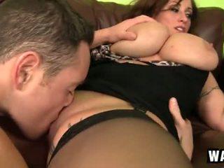 Incredibly ใหญ่ หน้าอกหน้าใจ บน the เซ็กซี่ เสือภูเขา ผู้หญิงสำส่อน eva notty
