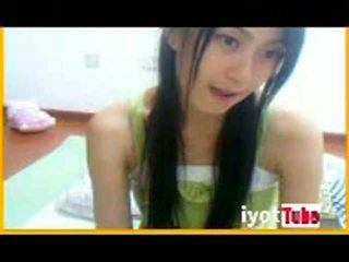Hot asian korean girl Webcam showing boobs