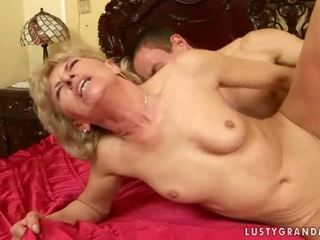 Lusty Grandmas having dirty sex Compilation