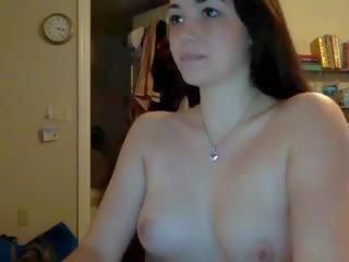 Pievilcīgas seksuālā meitene nākamais durvis 18 un kails, porno cb