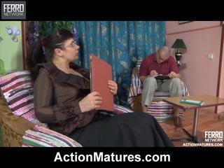 Action matures birleşmek all over christina, marcus, ophelia