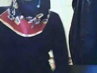 ビデオ - hijab 女の子 表示 尻 上の ウェブカメラ