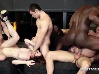 cumshots, sex în grup