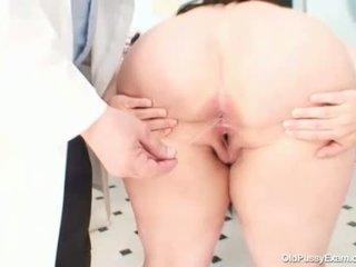 Nagy cicik kövér anya rosana gyno doktor examination