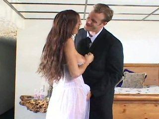 可愛 新娘 getting 性交 由 two