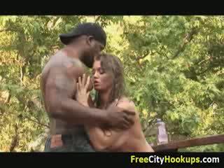 Groot titty rita faltoyano lichaam massage en hard reet neuken