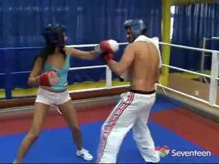 Porno iekšā the bokss ring