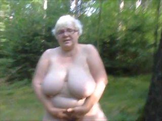 bbw, sürtük, büyükanne