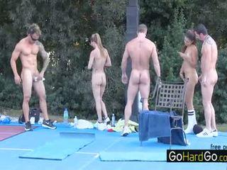 online group sex forró, minden nagy mellek legmelegebb, tréfa doggystyle minőség