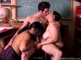 hardcore sex, mollig, groepsseks