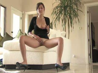 brunete, orgasmu, klitors