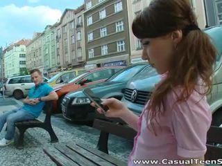 חרמן רוסי נוער מזוין קשה ב בית