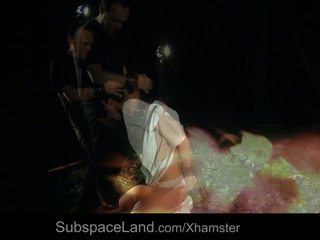 hq hd porn vid, bondage scene, cum swallowing tube