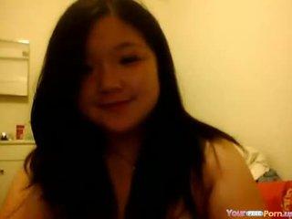 Warga asia remaja fucked keras oleh lover