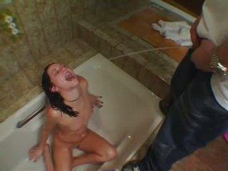 pissing, vannas istaba, fetišs