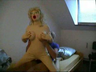 Real rubber doll