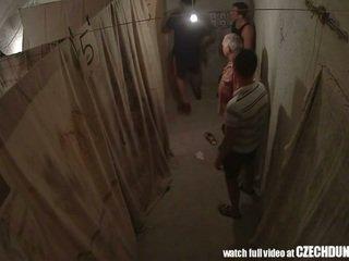 Shocking shots desde eastern europea underground brothel