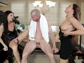 India Summer And Michelle Lay Have Sex With Big Dicked Homeless Guy