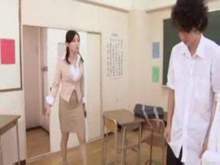 Quente japonesa professora