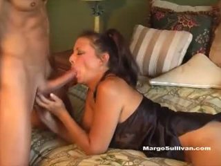 MILF Romp - Son Caught Mom Margo Sullivan in Bed