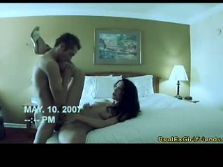Sexy Ex Girlfriend Kimberly Kole Enjoys A Sexy Ram On On Her Twat In Daybed