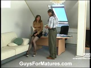 Hot guys for matures video starring laura, marcus, penelope