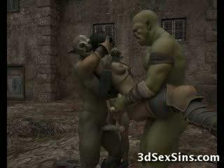 Ogres homosexual горещ 3d мадами!