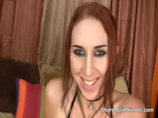 Küntije tattooed red head gutaran jelep getting fucked and facialized on bed