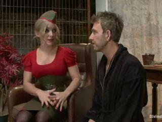 Пикантен голям titted блондинки dia zerva having а fellow колан с пенис bumped в tied vid