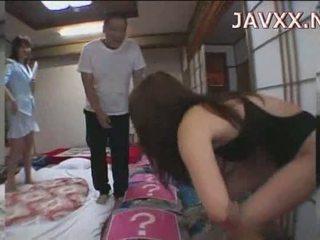 Mature Japanese babe rides a stiff boner to reach her orgasm