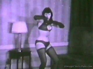 Vintāža erotisks dancer